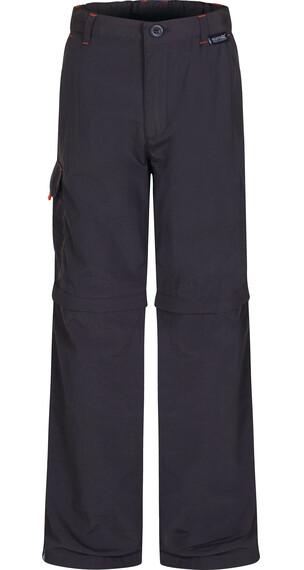 Regatta Sorcer Zip/Off Trousers Kids Ash